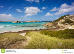 Tropical Beach Landscape Royalty Free Stock PhotoImage: 30655865 1969