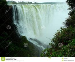 Victoria Falls, Zambezi River, Zimbabwe Royalty Free Stock Photo 1454