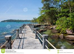 Ocean Walk Path With Rope Railing Stock PhotosImage: 36068703 1940