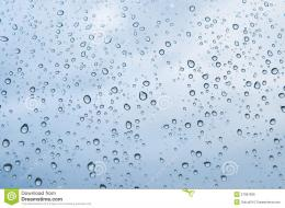 Rain Water Drops On Blue Royalty Free Stock ImageImage: 27997826 504