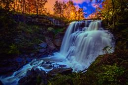 Ohio waterfall sunset hdr wallpaper | 2048x1365 | 118289 | WallpaperUP 441