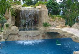 Pool Waterfalls | Palm Beach and South Florida | Tropical Waterfalls 356