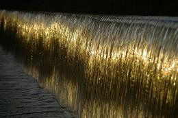 Reflections in the waterfall near the NCSL on Jubilee Campus… 1430