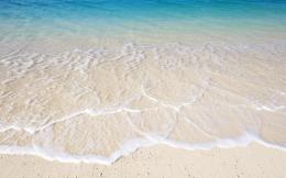 Download Sea Wallpaper wallpaper, \'White Sand Beach\' 1190
