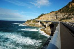 Sea Cliff Bridge 1996