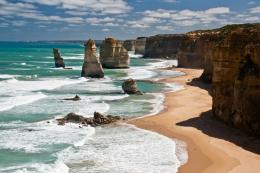 "22""The Twelve Apostles\"" are wonderful cliffs facing the ocean in 1650"