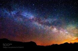 Photograph Starry night sky by Aslinah Safar on 500px 113