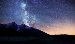 Starry sky mountain wonderful nature 1024x600 1436
