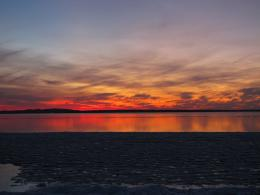 PanoramioPhoto of Sunset over Gull Lake 455