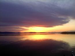 Then we all walked down to Lake Champlainthe sunset was gorgeous 757