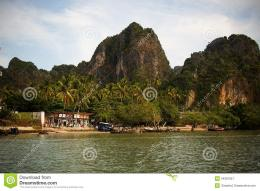 East Railay Beach On Thai Coast Royalty Free Stock PhotographyImage 1384