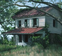 Abandoned House, Edwardsville, Virginia : Ephraim Rubenstein 1358