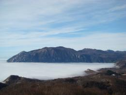 PanoramioPhoto of Mountain above clouds 893