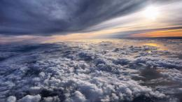 Flying above the clouds at sunset wallpapers and imageswallpapers 781
