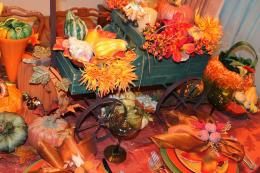 Fall Themed Tablescape: Colors, Colors! ~ The Art of Events 1452
