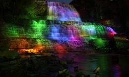 Victoria Day illumination at Albion FallsCity of Waterfalls 1026