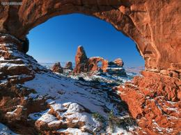 Nature: Natural Window Arches National Park Utah, picture nr14986 743