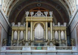 Description Esztergom basilica organ Hungary jpg 766