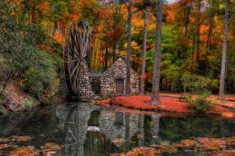 Beautiful Old Mill Wallpaper 142