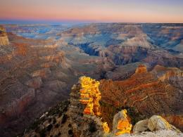 World Visits: The Grand Canyon in United States higher forested rims 1447