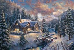 High Country Christmas | The Thomas Kinkade Company 853