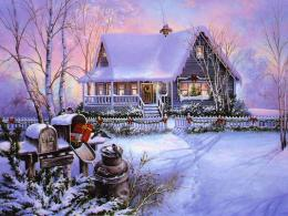 Mellow\'s Log Cabin: Christmas post 1116