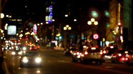 Bokeh City Lights Stock Video 18180615 | HD Stock Footage 895