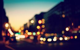 bokeh, city, lights, photo, fanciful, evening, hd wallpaper 804