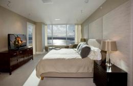 Comfortable Penthouse Bedroom Design One of 6 total Photographs Luxury 1025