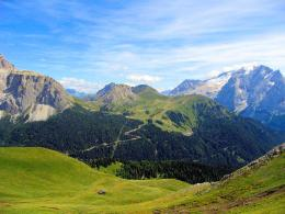 Visit to the Dolomites Mountains in Northern Italy 1084