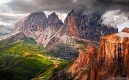 Dolomites Mountain range in Italy HD WallpaperiHD Wallpapers 507
