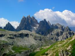 Dolomite Mountains | HD Landscape Wallpaper 505