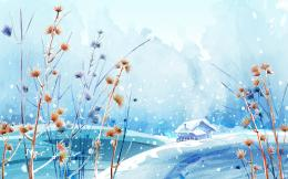 Dreamful Winter Beautiful Blue Dreamful High Resolution Nature Sky 1652