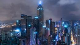 Hong Kong under a cloudy twilight HD wallpaper 1920x1080 1366x768 417
