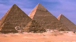 The Egyptian Pyramids of Giza 751