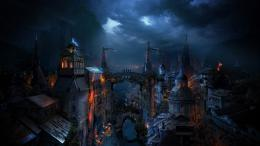 Fantasy City At Night copie 215