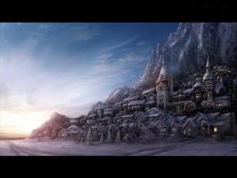 Fantasy town wallpapers | Fantasy town stock photos 1348