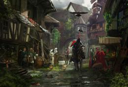 Medieval Town by RhysGriffiths on deviantART 1391