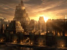 Fantasy Old City Landscape Wallpaper Images 87 #2819 Wallpaper | High 1965