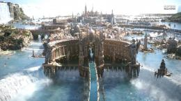 City in the game Final Fantasy xv wallpapers and imageswallpapers 570