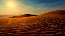 Desert Under Sunshine Hd Wallpaper | Wallpaper List 1255