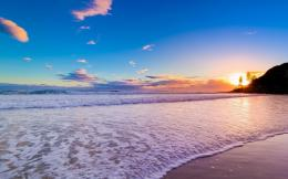 Download Chaweng beach in dawn wallpaper in Nature wallpapers with all 1112