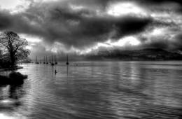 HDR dark and gloomy lake scene by TheRegsy on DeviantArt 1015