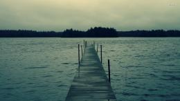 Pier on a dark day wallpaperPhotography wallpapers#17482 1644