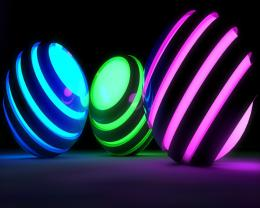 Graphics 3d Wallpapers : BALLS BANDS GLOW BRIGHT 0342 #8026 1920x1080 811