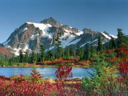 Download Mountain Valleys wallpaper, \'lake under icy mountain in 276
