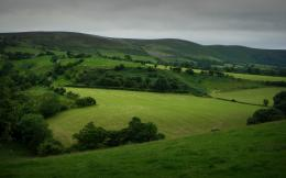 Green Hills Fields & Trees wallpapers | Green Hills Fields & Trees 1424
