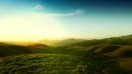 Download Beautiful green hills wallpaper 1513