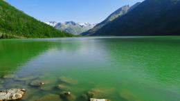 Green Water Lake | HD Wallpapers 1395