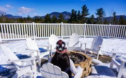 White Mountain Hotel, Bretton Woods Skiing & a Frozen Waterfall Hike 1698